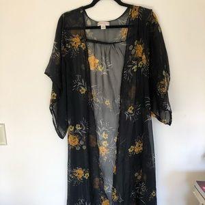 Bohemian Band of Gypsies Sheer Kimono